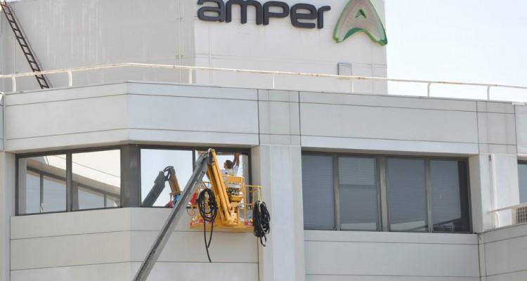 AMPER confía en GRUPO PROSOL para la instalación de láminas solares en sus oficinas de Madrid